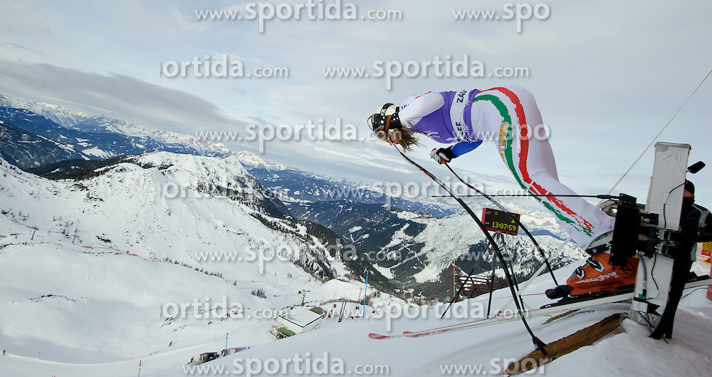 06.01.2011, Kälberloch, Zauchensee, AUT, FIS World Cup Ski Alpin, Ladies, Training, Bild zeigt Francesca Marsaglia (ITA), EXPA Pictures © 2011, PhotoCredit: EXPA/ S. Zangrando