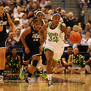 Jewell Loyd, Notre Dame, in action during the Connecticut V Notre Dame Final match won by Notre Dame during the Big East Conference, 2013 Women's Basketball Championships at the XL Center, Hartford, Connecticut, USA. 11th March. Photo Tim Clayton