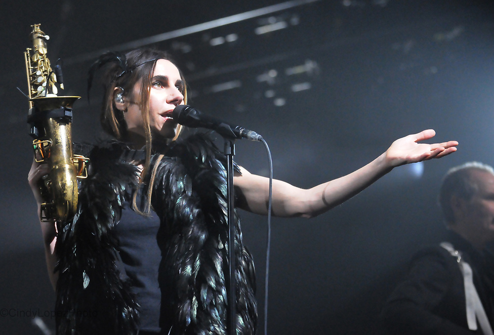 PJ Harvey performs on night 2 of two sold out shows at Metropolis. It was her first headlining show in Montreal since 1995. April 2017. (Cult MTL)