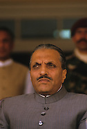 Zia Ul Haq the general president in electoral campaign and Close up portrait and in Family in his private residence  North western territory  Pakistan       ///  zia close up et campagne electorale. Portrait et chez lui avec sa famille  Zone tribales  Pakistan    ///      Pak56820  /  PAK11  /  P123402