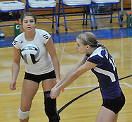 Lakewood at Midview varsity volleyball on September 11, 2012 at Midview High School. Images © David Richard and may not be copied or posted without permission.