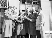 Annual Congress at Gresham Hotel in Dublin..01.04.1956  1st April 1956
