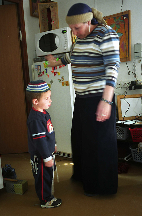 Daily life in the settlement named Shirat Hym (Rkover family)