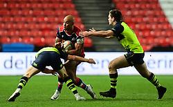 Tom Varndell of Bristol Rugby goes into contact - Mandatory by-line: Alex Davidson/JMP - 08/12/2017 - RUGBY - Ashton Gate Stadium - Bristol, England - Bristol Rugby v Leinster 'A' - B&I Cup