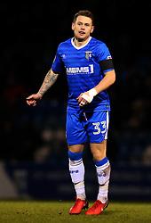 Mark Byrne of Gillingham - Mandatory by-line: Robbie Stephenson/JMP - 16/12/2017 - FOOTBALL - MEMS Priestfield Stadium - Gillingham, England - Gillingham v Bristol Rovers - Sky Bet League One