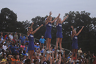 Water Valley cheerleaders vs. Coffeeville in Coffeeville, Miss. on Friday, August 24, 2012. Water Valley won.