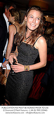 MISS JESSICA CRAIG a friend of Prince Willaim, at a dinner in London on 4th June 2003.PKD 32