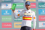 Gorka Izaguirre (ESP, Bahrain - Merida), podium during the 73th Edition of the 2018 Tour of Spain, Vuelta Espana 2018, Stage 13 cycling race, Candas Carreno - La Camperona 174,8 km on September 7, 2018 in Spain - Photo Luca Bettini / BettiniPhoto / ProSportsImages / DPPI