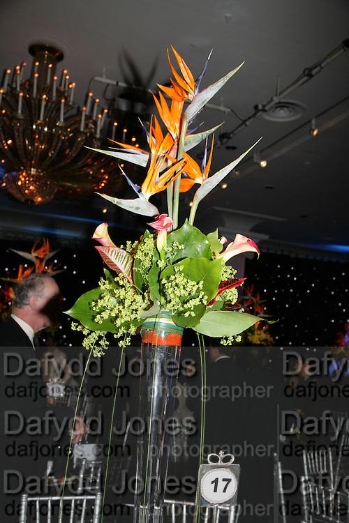 Grosvenor House Art & Antiques Fair charity gala evening in aid of Coram Foundation. Grosvenor House. Park Lane. London. 14 June 2007.  -DO NOT ARCHIVE-© Copyright Photograph by Dafydd Jones. 248 Clapham Rd. London SW9 0PZ. Tel 0207 820 0771. www.dafjones.com.