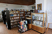 Pelion or Pelium is a mountain and district at the southeastern part of Thessaly in central Greece, forming a hook-like peninsula between the Pagasetic Gulf and the Aegean Sea. <br /> <br /> On the photo:  The library of Zagora with thousands of rare books is of great interest.