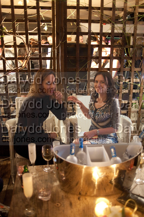 Jackie Newcombe;  Eilidh MacAskill . InStyle Best Of British Talent , Shoreditch House, Ebor Street, London, E1 6AW, 26 January 2011