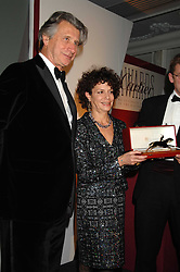 MARIA NIARCHOS and ARNAUD BAMBERGER MD of Cartier UK  at the 17th annual Cartier Racing Awards 2007 held at the Four Seasons Hotel, Hamilton Place, London on 14th November 2007.<br /><br />NON EXCLUSIVE - WORLD RIGHTS