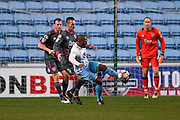 Coventry City midfielder Kyel Reid (11)  during the The FA Cup match between Coventry City and Morecambe at the Ricoh Arena, Coventry, England on 15 November 2016. Photo by Simon Davies.