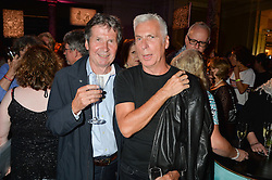 Left to right, and JOHN GIDDINGS at a private view of Revolution: Records and Rebels 1966-1970 at the V&A, London on 7th September 2016.