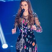 NLD/Hilversum/20170120 - 2de liveshow The Voice of Holland 2017, Kirsten Berkx