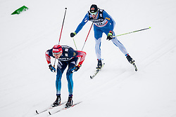 during mens 10km Classic individual start of the Tour de Ski 2014 of the FIS cross country World cup on January 4th, 2014 in Cross Country Centre Lago di Tesero, Val di Fiemme, Italy. (Photo by Urban Urbanc / Sportida)