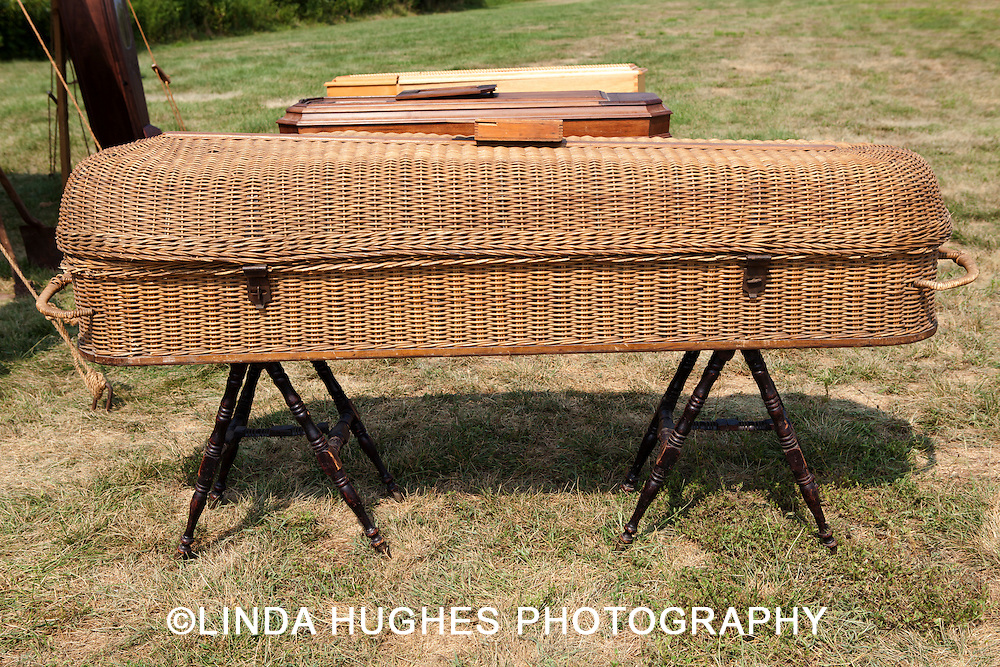 US Civil War Period Coffin