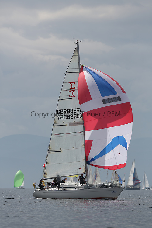 The Silvers Marine Scottish Series 2014, organised by the  Clyde Cruising Club,  celebrates it's 40th anniversary.<br /> GBR8856Y, Mayrise, James Miller, Helensburgh SC<br /> Final day racing on Loch Fyne from 23rd-26th May 2014<br /> <br /> Credit : Marc Turner / PFM