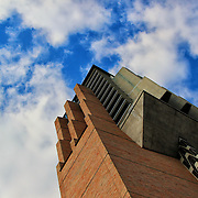 &quot;Bell Tower&quot;<br /> <br /> The bell tower in the University of Michigan's North Campus, contrasted against a beautiful sky!!<br /> <br /> Architecture: structures and buildings by Rachel Cohen