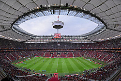 27.05.2015, Nationalstadion, Warschau, POL, UEFA EL, Dnjepr Dnjepropetrovsk vs FC Sevilla, Finale, im Bild STADION NARODOWY WIDOK Z TRYBUNY, ZDJECIE ILUSTRACYJNE // during the UEFA Europa League final match between Dnjepr Dnjepropetrovsk and FC Sevilla Nationalstadion in Warschau, Poland on 2015/05/27. EXPA Pictures © 2015, PhotoCredit: EXPA/ Newspix/ MICHAL STANCZYK / CYFRASPORT<br /> <br /> *****ATTENTION - for AUT, SLO, CRO, SRB, BIH, MAZ, TUR, SUI, SWE only*****