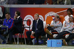 coach Ronald Koeman of Holland during the International friendly match match between The Netherlands and Peru at the Johan Cruijff Arena on September 06, 2018 in Amsterdam, The Netherlands