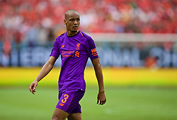 CHARLOTTE, USA - Sunday, July 22, 2018: Liverpool's Fabio Henrique Tavares 'Fabinho' during a preseason International Champions Cup match between Borussia Dortmund and Liverpool FC at the  Bank of America Stadium. (Pic by David Rawcliffe/Propaganda)