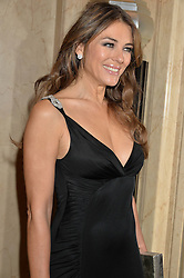 ELIZABETH HURLEY at the QBF Spring Gala in aid of the Red Cross War Memorial Children's Hospital hosted by Heather Kerzner and Jeanette Calliva at Claridge's, Brook Street, London on 12th May 2015.