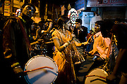 Street shots of north India. Photo by Suzanne Lee Night street scenes, Lucknow, Uttar Pradesh, Wedding Bands,