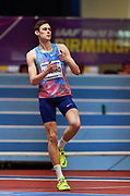 Danil Lysenko (RUS) wins the high jump at 7-8 3/4 (2.36m)  during the IAAF World Indoor Championships at Arena Birmingham in Birmingham, United Kingdom on Thursday, Mar 1, 2018. (Steve Flynn/Image of Sport)