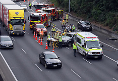Auckland-One injured in Southern Motorway crash