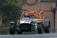 #39 M Drain / A Drain Caterham R300 2000 during the CSCC Gold Arts Magnificent Sevens at Oulton Park, Little Budworth, Cheshire, United Kingdom. October 15 2016. World Copyright Peter Taylor/PSP. <br /> Copy of publication required for printed pictures.  Every used picture is fee-liable. http://archive.petertaylor-photographic.co.uk