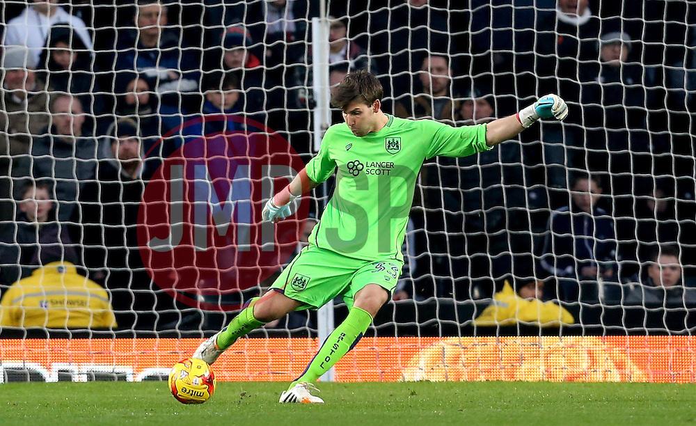 Fabian Giefer of Bristol City - Mandatory by-line: Robbie Stephenson/JMP - 11/02/2017 - FOOTBALL - iPro Stadium - Derby, England - Derby County v Bristol City - Sky Bet Championship