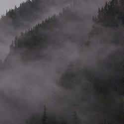 Fog on Peaks, North Cascades National Park, Washington, US