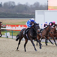 Garrisson and Robert Winston winning the 3.00 race