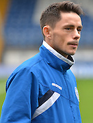 Rochdale Forward, Ian Henderson before the Sky Bet League 1 match between Bury and Rochdale at Gigg Lane, Bury, England on 17 October 2015. Photo by Mark Pollitt.