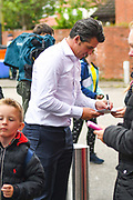 Joey Barton of Fleetwood Town (Manager) arrives at the ground during the EFL Sky Bet League 1 match between Fleetwood Town and AFC Wimbledon at the Highbury Stadium, Fleetwood, England on 10 August 2019.