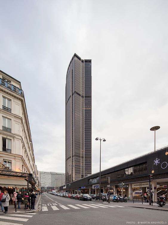 Tour Montparnasse, Paris, 2017
