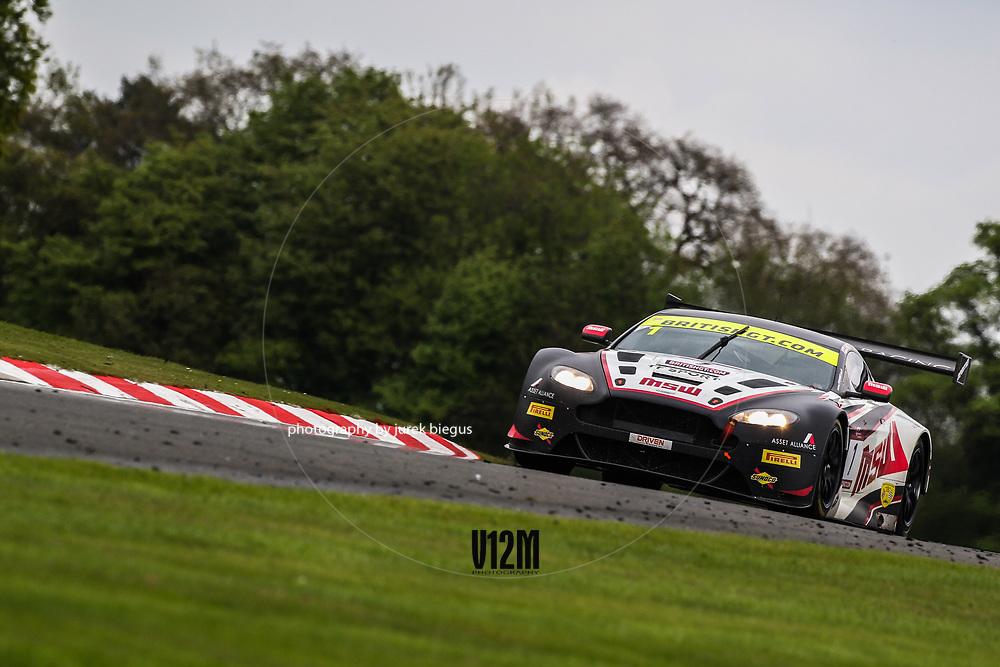 TF Sport | Aston Martin Vantage GT3 | Derek Johnston | Jonny Adam | British GT Championship | Oulton Park | 17 April 2017 | Photo: Jurek Biegus