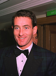 Green Shield stamp heir MR TIM JEFFERIES, former husband of Koo Stark, at a ball in London on 20th November 1997.MDN 6