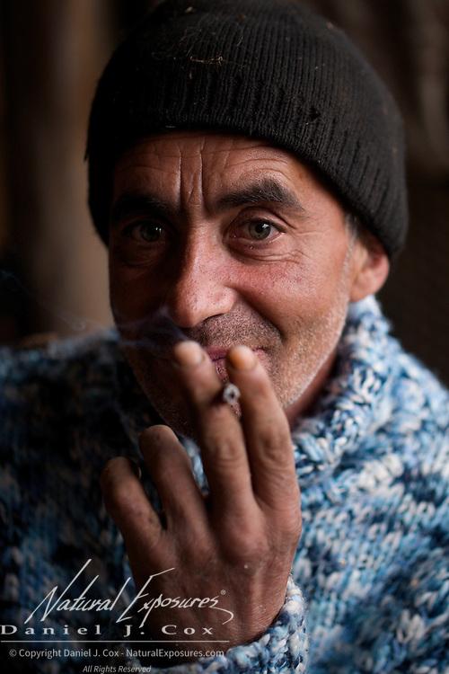 Portrait of a Romania man.