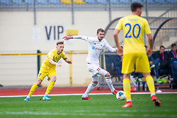 Ozbej Kuhar of Triglav and Dejan Lazarevic during football match between NK Domzale and NK Triglav in Round #18 of Prva liga Telekom Slovenije 2019/20, on November 23, 2019 in Sports park Domzale, Slovenia. Photo by Sinisa Kanizaj / Sportida