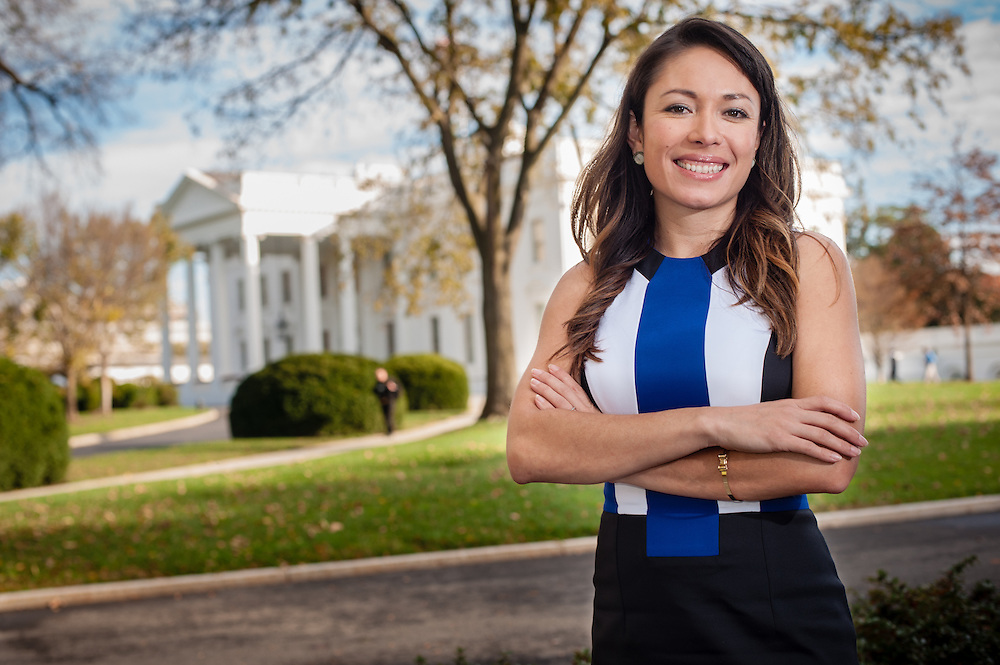 WASHINGTON, DC -- 11/12/15 -- Katherine Vargas, director of Hispanic Media for the White House, is leaving for a new job at Google..…by André Chung #_AC10285