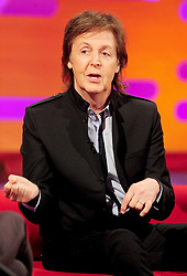 File photo dated 17/10/13 of Sir Paul McCartney, who has been made a Companion of Honour in the Queen's Birthday Honours List.