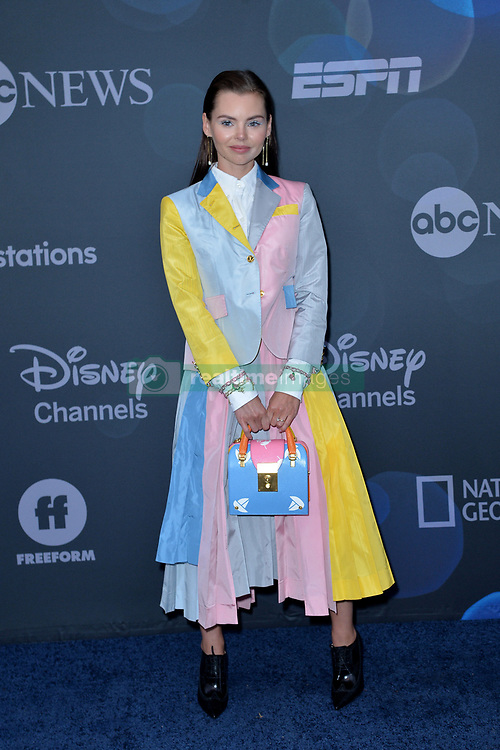 May 14, 2019 - New York, NY, USA - May 14, 2019  New York City..Eline Powell attending Walt Disney Television Upfront presentation party arrivals at Tavern on the Green on May 14, 2019 in New York City. (Credit Image: © Kristin Callahan/Ace Pictures via ZUMA Press)