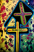 Lee Perry -  Black Ark Studio - wall art - Kingston - Jamaica 1979