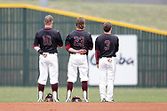 March 25, 2017: The Texas A&M International University Dustdevils play against the Oklahoma Christian University Eagles at Dobson Field on the campus of Oklahoma Christian University.