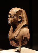 Upper part of a statue of the king Amenhotep 11