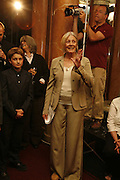 VANESSA REDGRAVE, Vanessa Redgrave and Thelma Holt host a reception at the<br />
