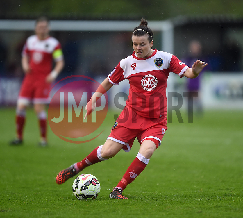 Bristol Academy's Hayley Ladd - Photo mandatory by-line: Paul Knight/JMP - Mobile: 07966 386802 - 25/04/2015 - SPORT - Football - Bristol - Stoke Gifford Stadium - Bristol Academy Women v Notts County Ladies FC - FA Women's Super League
