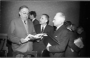 02/06/1964 <br /> 06/02/1964<br /> 02 June 1964<br /> Council of Europe working party meeting opens in Leinster House, Dublin. the two day meeting of the working party on relations with national parliaments of the Consultative Assembly of the Council of Europe was opened by Mr George Colley T.D., Chairman of the Irish Parliamentary Delegation to Strasburg.